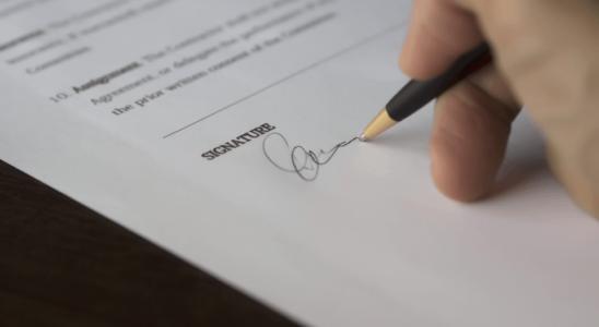 signature pour rupture conventionnelle